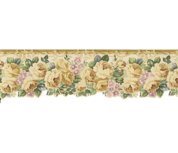 Clearance: Roses Wallpaper Border B76340