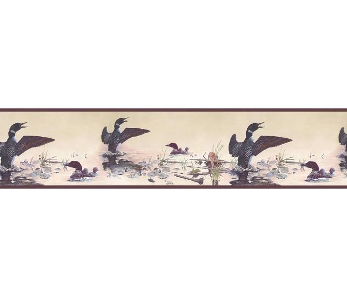Clearance: Birds Wallpaper Border GL76347