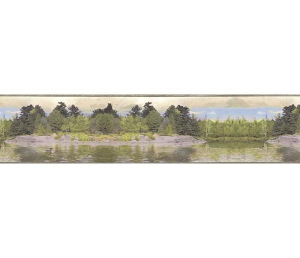Clearance: Contemporary Wallpaper Border B76355