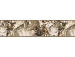 Prepasted Wallpaper Borders - Dogs Wall Paper Border B76357