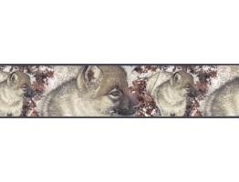 7 in x 15 ft Prepasted Wallpaper Borders - Dogs Wall Paper Border B76358