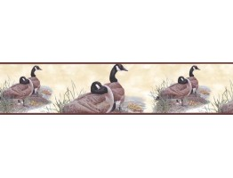 7 in x 15 ft Prepasted Wallpaper Borders - Birds Wall Paper Border B76362