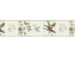 Butterfly Wallpaper Border B76364