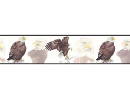 7 in x 15 ft Eagle Wallapaper Border GL76379