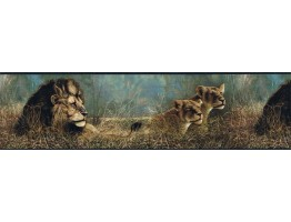 Prepasted Wallpaper Borders - Animals Wall Paper Border B76462