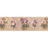 Floral Wallpaper Borders: Floral Wallpaper Border SP76484