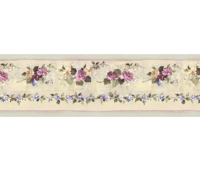 Floral Wallpaper Borders: Floral Wallpaper Border B76555