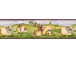 Prepasted Wallpaper Borders - Animals Wall Paper Border NC76753