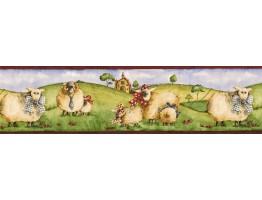 Animals Wallpaper Border NC76753