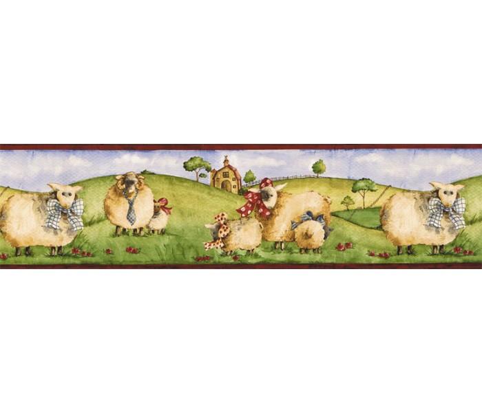 Clearance: Animals Wallpaper Border NC76753