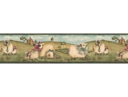 Prepasted Wallpaper Borders - Animals Wall Paper Border NC76754