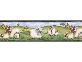 7 in x 15 ft Prepasted Wallpaper Borders - Animals Wall Paper Border NC76755