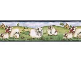 Animals Wallpaper Border NC76755