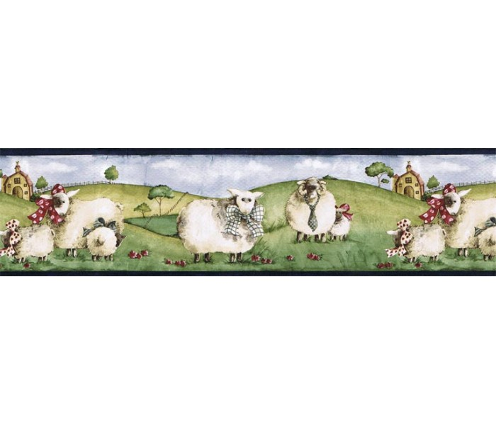 Clearance: Animals Wallpaper Border NC76755