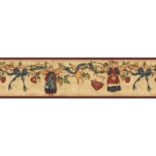 7 in x 15 ft Prepasted Wallpaper Borders - Angels Wall Paper Border NC76756LL