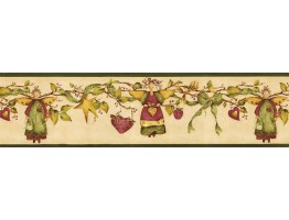 7 in x 15 ft Prepasted Wallpaper Borders - Angels Wall Paper Border NC76757