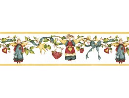 Prepasted Wallpaper Borders - Angels Wall Paper Border NC76759