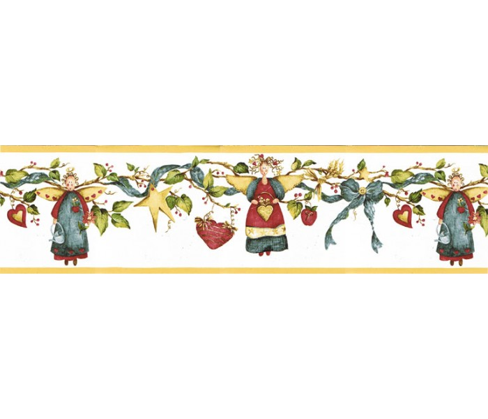 Faith and Angels Wallpaper Borders: Angels Wallpaper Border NC76759