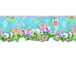 Prepasted Wallpaper Borders - Angels Wall Paper Border NGB76797DC