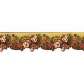 Floral Wallpaper Borders: Floral Wallpaper Border WD76824DC