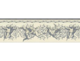 Prepasted Wallpaper Borders - Angels Wall Paper Border NB76941