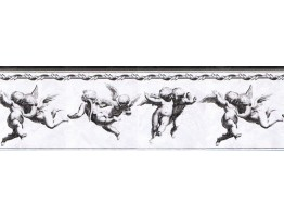 Prepasted Wallpaper Borders - Angels Wall Paper Border NB76943A