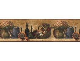 Prepasted Wallpaper Borders - Kitchen Wall Paper Border KL76995