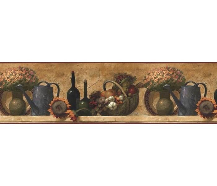 Kitchen Wallpaper Borders: Kitchen Wallpaper Border KL76995