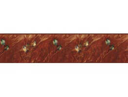 Prepasted Wallpaper Borders - Birds Wall Paper Border NS7701B