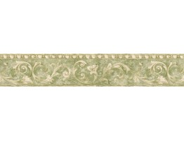 5 1/8 in x 15 ft Prepasted Wallpaper Borders - Vintage Wall Paper Border NS7717B