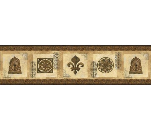 Clearance: Vintage Wallpaper Border AW77350