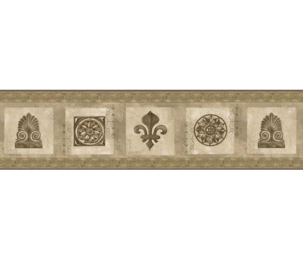 Clearance: Vintage Wallpaper Border AW77351