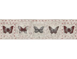 Butterfly Wallpaper Border AW77382
