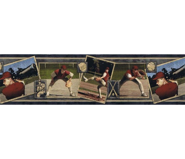 Sports Borders Sports Wallpaper Border BW77437 S.A.MAXWELL CO.