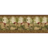 Tropical Wallpaper Borders: Country Wallpaper Border BW77449