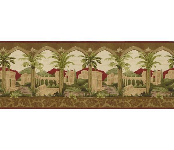 Tropical Wallpaper Borders: Country Wallpaper Border BW77449