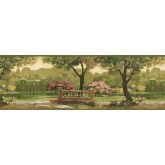 Prepasted Wallpaper Borders - Country Wall Paper Border CH77632