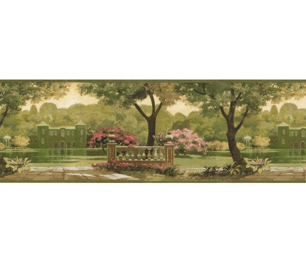 Clearance: Country Wallpaper Border CH77632