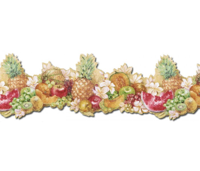 Clearance: Fruits Wallpaper Border MK77681DC