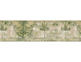 Prepasted Wallpaper Borders - Vintage Wall Paper Border AR77967
