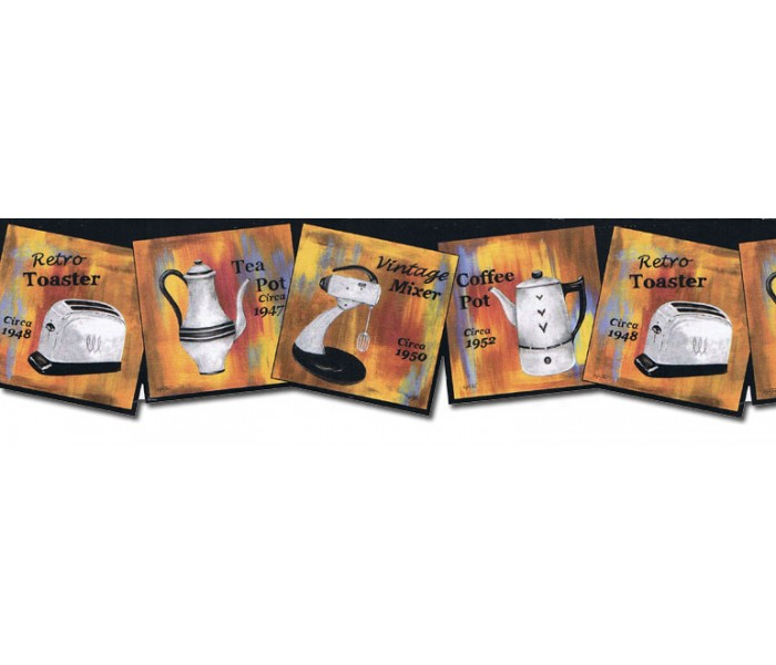 Kitchen Wallpaper Borders: Kitchen Wallpaper Border CU78240DC