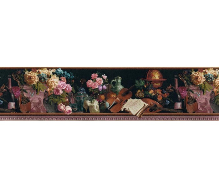 Clearance: Floral Wallpaper Border B79085