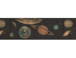 Planets Wallpaper Border GU79212A