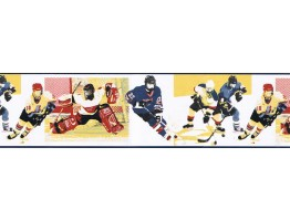 7 in x 15 ft Prepasted Wallpaper Borders - Sports Wall Paper Border GU79222