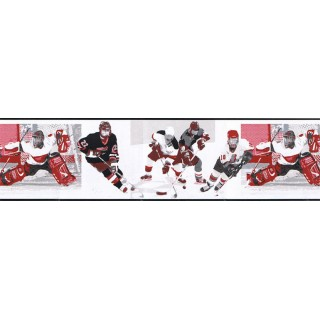 7 in x 15 ft Prepasted Wallpaper Borders - Sports Wall Paper Border GU79224