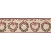 Clearance: Floral Wallpaper Border CJ80011B