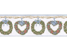 Prepasted Wallpaper Borders - Floral Wall Paper Border CJ80012B