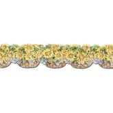 Sunflower Wallpaper Borders: Sunflowers Wallpaper Border CJ80031DB