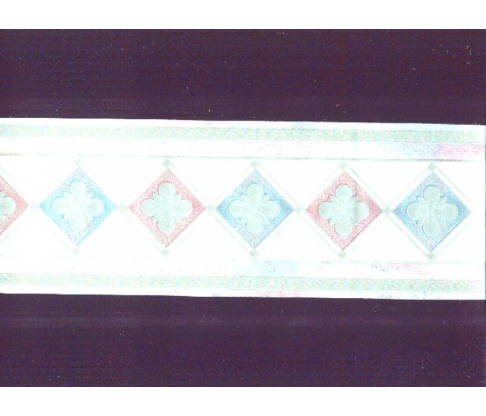 Clearance: Contemporary Wallpaper Border b80753
