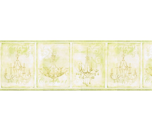 Contemporary Borders Chandeliers Wallpaper Border KD8100B